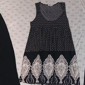 Glam sz LG MiNi Dress junior silky loose fit